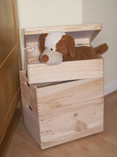 Large New Wooden Storage Box /DIY Crates/Toy Boxes Set ...